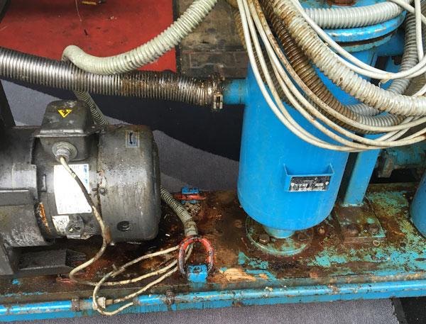 Trockeneisstrahlen Vakuummaschine