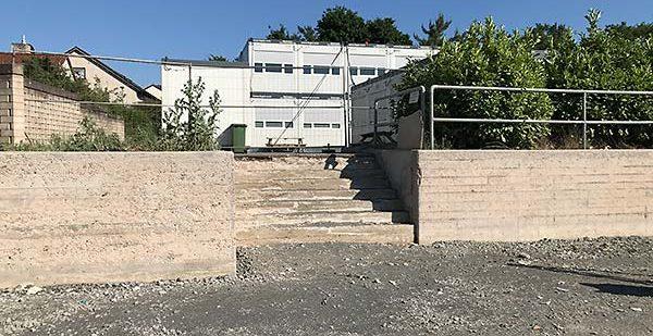 Sandstrahlen Beton