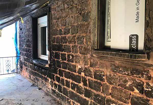 Fassade Trockeneisstrahlen