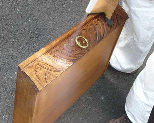 Trockeneisstrahlen - Möbel